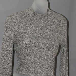 Forever 21, Cropped Top, Knit, Long sleeves